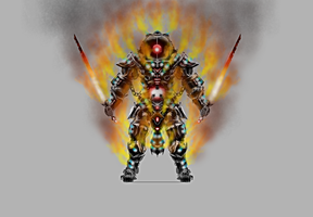 Pyron Concept armor by mkoewler