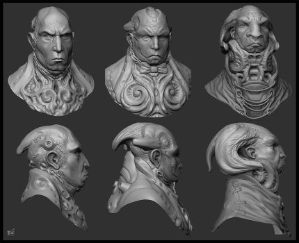 Sang Bleu generals Zbrush by ced66