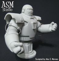 Iron Monger Mini Bust 01 by ASM-studio