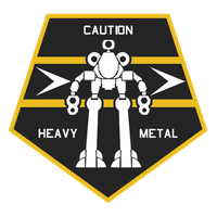Blackburn's Raiders Heavy Support Insignia by Viereth