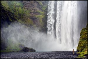 Skogafoss by Dave-Derbis