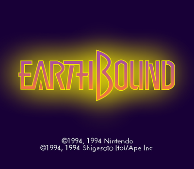 Earthbound Title HD by Frostridge-Dragoone