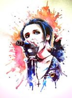 Andy Biersack by dragon-flies
