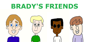 Nathan, Nathan, Ike and Butch - BRADY'S FRIENDS by mjeddy