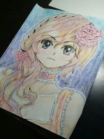 Color pencil by McCuddly