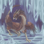 Chicken Dragon on Ice by miirgan