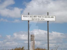 Highest Road Sign by tablelander