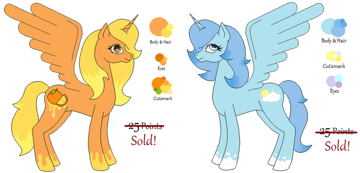 MLP Alicorn Adopts - CLOSED by LittleMissFurfect
