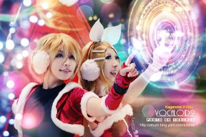 kagamine X'mas music by tobires