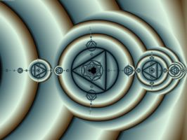 Circles and Triangles by element90