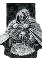 Doctor Doom Commission by RADMANRB
