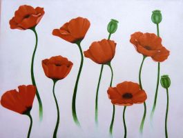 Poppies by JodieLeader
