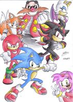 Sonic Adventure 2 by Ian-the-Hedgehog