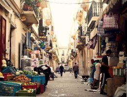 Tangier alley by donnosch