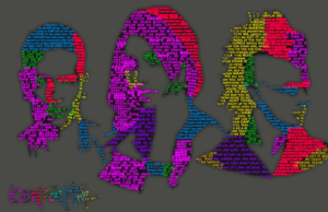 Icon For Hire Typography by GraveyardChaos
