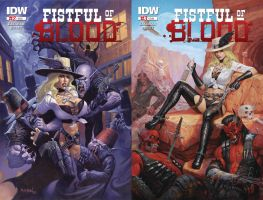 Fistful of Blood - Covers 2 and 3 by namesjames
