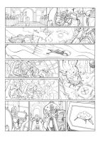 Old Sci-fi project: Page 6 - Ink by DrManhattan-VA