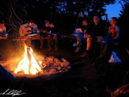 campfire by Stratege