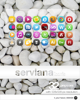 SERVIANA ICON by hpluslabels