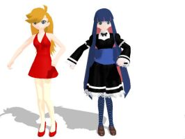 NEWCOMERS: PANTY AND STOCKING by gothicjinx101