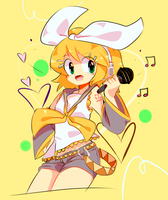 THAT KAGAMINE GIRL by MisterCakerz