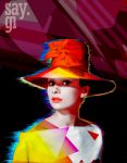 Audrey Hepburn - Modern Pop Art by TheSayGi