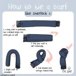 Sherlock Scarf Guide by SNHigginsss