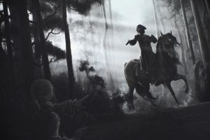 The Highwayman Dick Turpin by stoudaa