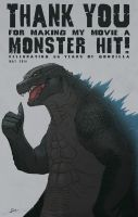 Godzilla is #1 by Mr-Stot