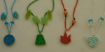 Avatar The Last Airbender, Four Elements Necklaces by bones-sickle