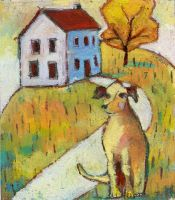 Dog In Yard by usartdude