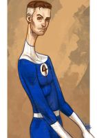 Daily Sketches Mr Fantastic by fedde