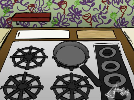 Wall Is Full of Stove by PizzaParty