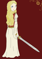 Eowyn of Rohan by Floating-Hobbit