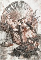 Copy of Luis Royo art by artmik