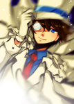DC: Kaito Kid by Wanted-x