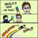 Sherlock, grab my Sonic! by LimitBreakComics