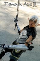 Fenris Cosplay - Dragon Age II by Aicosu