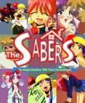 """The Sabers """"Box Art"""" by C-quel"""