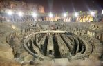 Colosseum at night, Inside by JQ444