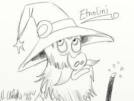 Etno as Etnolini 8D by LazyAsHell
