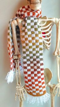 (For Sale) Rainbow Double Knit Scarf by SofiStrange