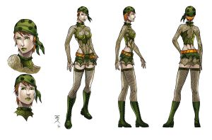Fenian model sheet colored by Kaemgen