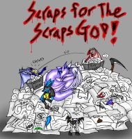 100 Scraps for the SCRAPS GOD by Snowfyre