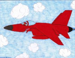 the Red Tomcat by sharkplane77