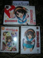 Limited Suzumiya Haruki Ps2-Psp by ninjamaster76