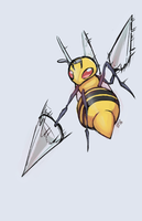 Beedrill colored by J3rry1ce