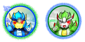 TFP Skyquake and Dreadwing by Ria729