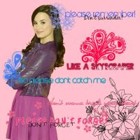 5 Textos Png- Demi Lovato by Juli2000