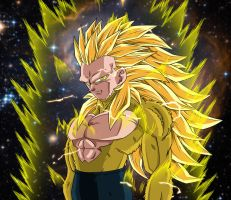 Kental Super Saiyan 6. by Yamato012